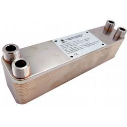"""Plate Heat Exchanger NORDIC Ba-23-30 3/4"""" 125kW"""