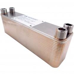"""Plate Heat Exchanger NORDIC Ba-23-40 3/4"""" 165kW"""
