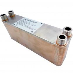 """Plate Heat Exchanger NORDIC Ba-23-50 3/4"""" 210kW"""
