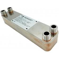 """Plate Heat Exchanger NORDIC Ba-60-20 1 1/4"""" 220kW"""