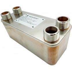 """Plate Heat Exchanger NORDIC Ba-95-40 2"""" 1000kW"""