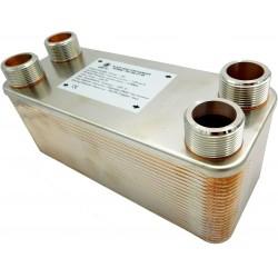 """Plate Heat Exchanger NORDIC Ba-95-50 2"""" 1250kW"""