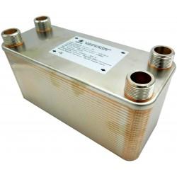"""Plate Heat Exchanger NORDIC Ba-115-50 2"""" 1700kW"""