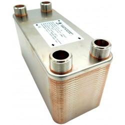 """Plate Heat Exchanger NORDIC Ba-115-60 2"""" 2050kW"""