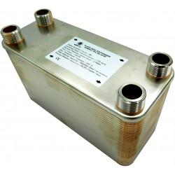 """Plate Heat Exchanger NORDIC Ba-115-70 2"""" 2400kW"""