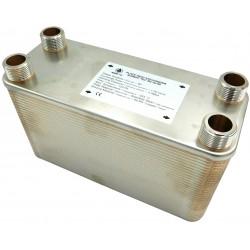 """Plate Heat Exchanger NORDIC Ba-115-80 2"""" 2750kW"""