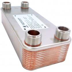 """Plate Heat Exchanger NORDIC Ba-32-20 1"""" 125kW"""
